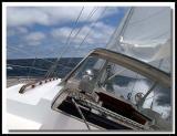 Sailing Lake Michigan 2003