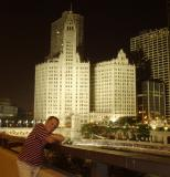 the Wrigley Building... and Michael