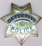 sterling las vegas detective badge