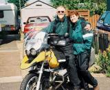 Great Britain and Europe by motorcycle.  June 2003.