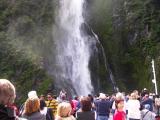 In awe of Stirling Falls