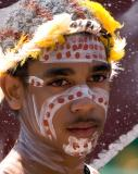 Aboriginal young man
