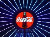 4th  Ferris Coke at Night    by Helen Betts