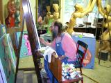 At Easel 1