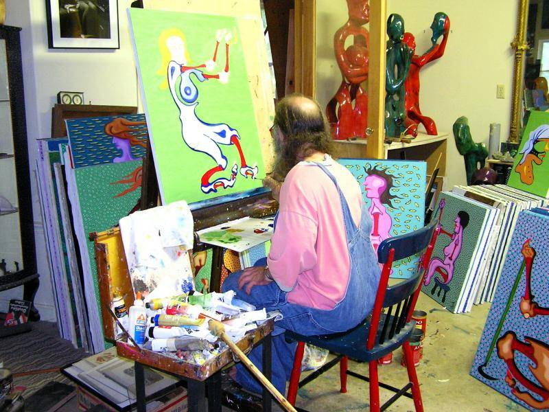 At Easel 3