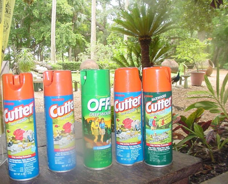 Supposedly, the only tour in Florida to offer spray for the mosquitos!