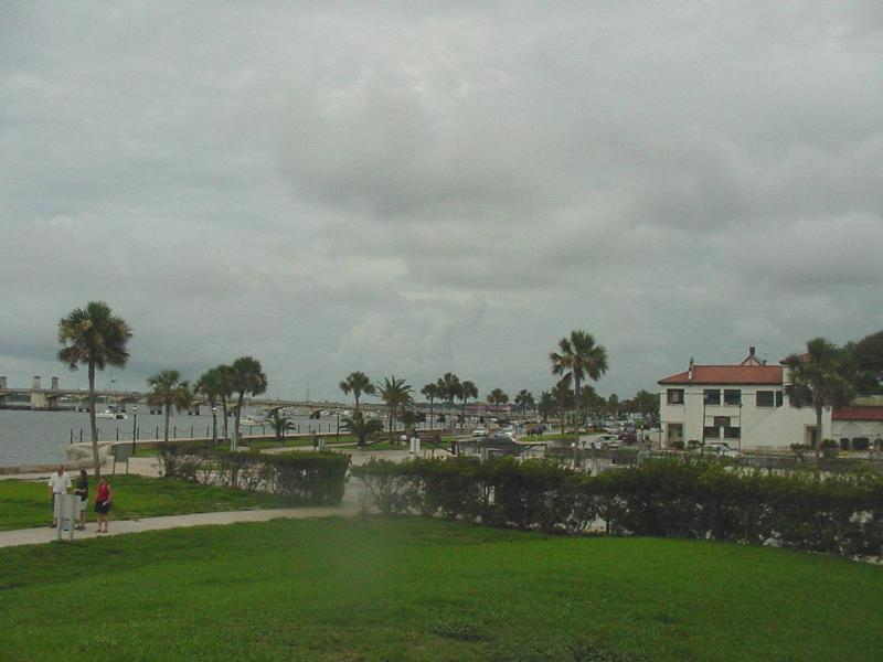 A view of St. Augustine