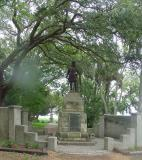 Several monuments are located on the grounds. This one is in honor of Ponce de Leon