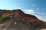 The Uluru ( Ayers Rock ) Climb