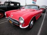 1956 Corvette - 2002 Labor Day Cruise, OC Fairgrounds Costa Mesa, CA