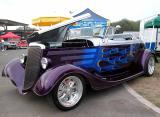 Custom 1934 Ford  - 2002 Labor Day Cruise, OC Fairgrounds Costa Mesa, CA