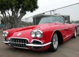 1958 Corvette - 2002 Labor Day Cruise, OC Fairgrounds Costa Mesa, CA