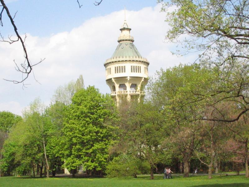 Water tower on Margaret Island