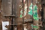 old door old poster