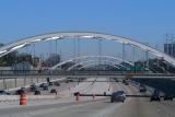 Southwest Freeway at four bridges to E 1