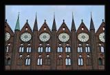 Brickstone-Architecture in Stralsund,Germany