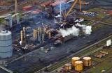 Teesside steel plant