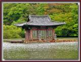 Jusanji - Floating Buddhist Temple 주산지 - Korea