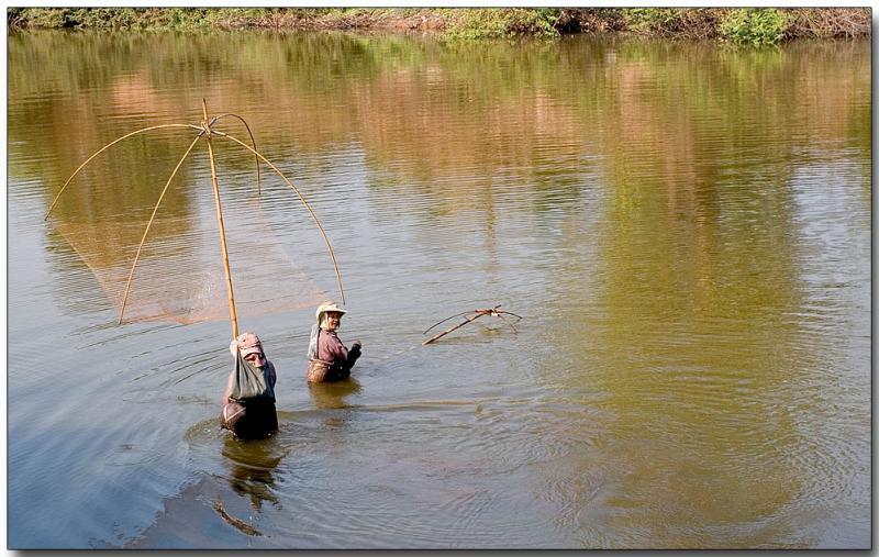 River fishing - Chiang Rai