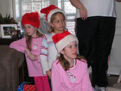 triple trouble ?  Christmas 2004