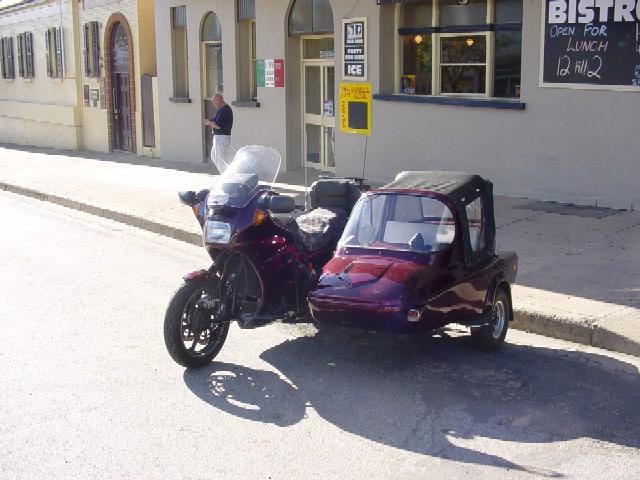 Dons GTR & Side Car