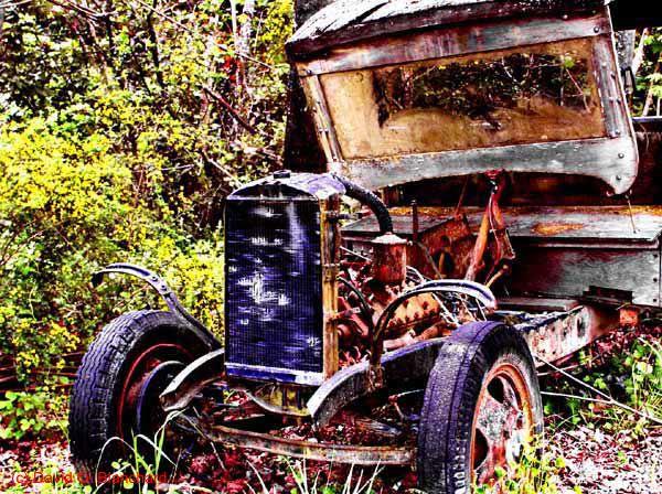 Truck ala Orange