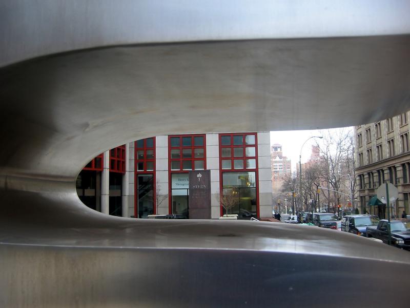 NYU Business School & WSS Seen Through Jean Arps Sculpture