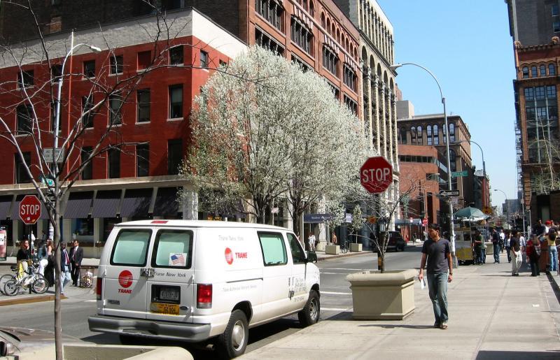 At  Green Street & NYUs Gould Plaza
