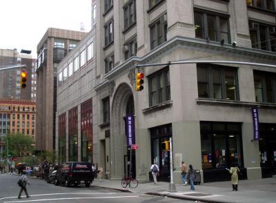 NYU Information Center at Corner of WSS & WSE