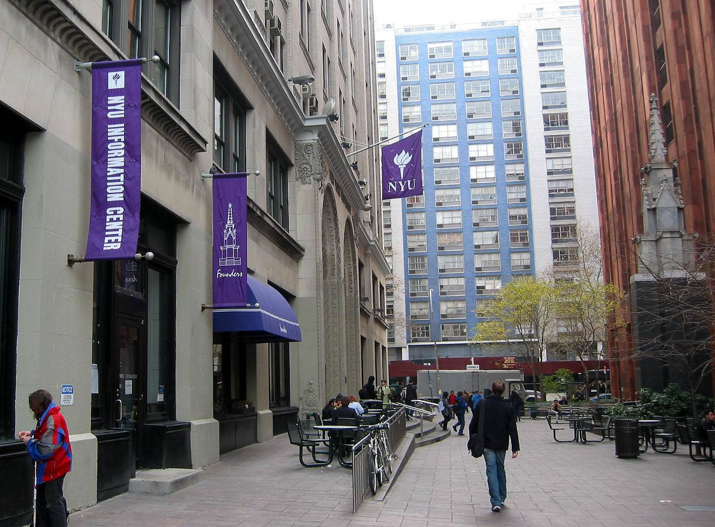 NYU Library Lane Photo Gallery by Hubert Steed at pbase com