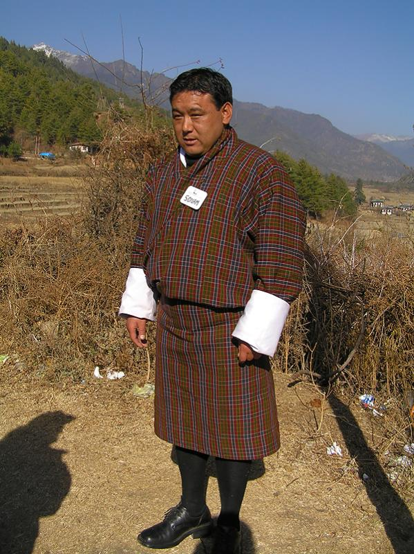 Traditional and Compulsury Bhutanese clothes for Men