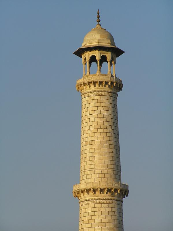 One tower at the tomb