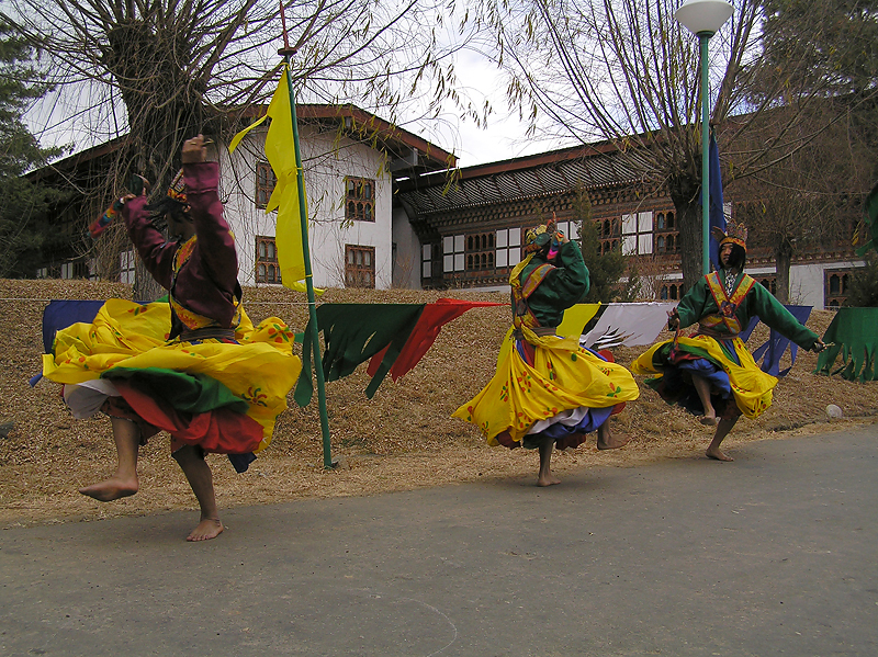 Ceremonial dancing in historic costumes