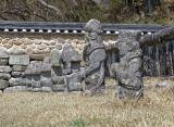 In the temple aerea