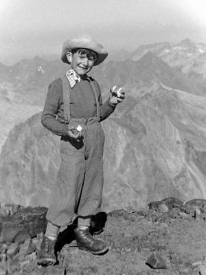 Casse-croûte au sommet du Vignemale (3298 m)