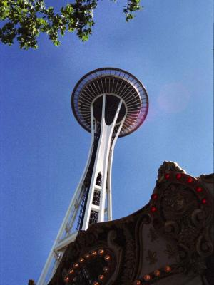 Space Needle at Seattle Center