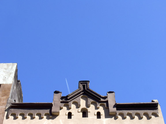 Orchard St. Contrail