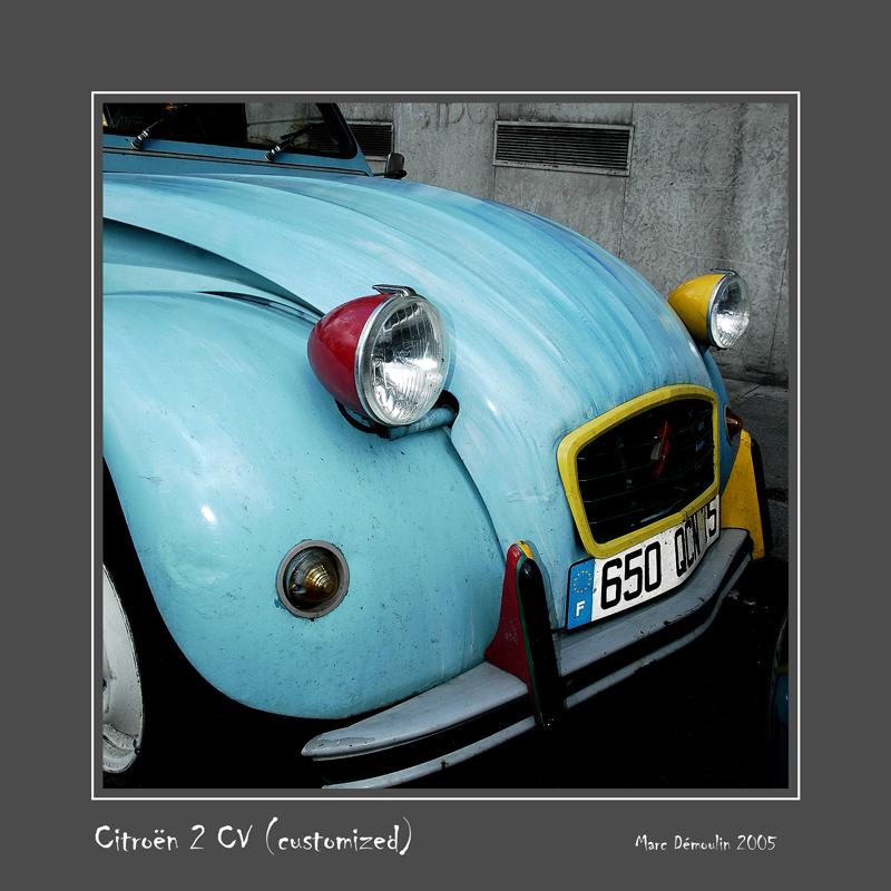 CITROEN 2 CV Paris - France