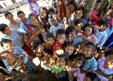 Lamno, Sumatra, Indonesia tsunami kids