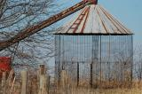 Weathered Grain Bin