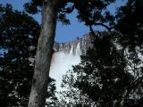 Our first glimpse of Angel Falls