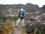 Peter on top of Roraima