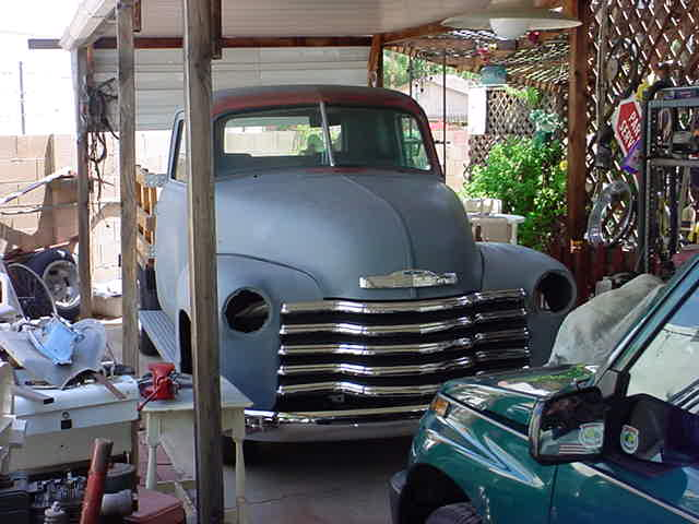 Gary Waters brand <br> new 1948 Chevy 3100