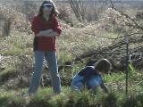 Kayla and Lisa picking plants.jpg