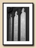 Cathedral Etched Doors
