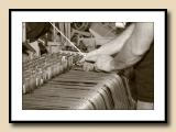 Hands at Work, Loom Repair