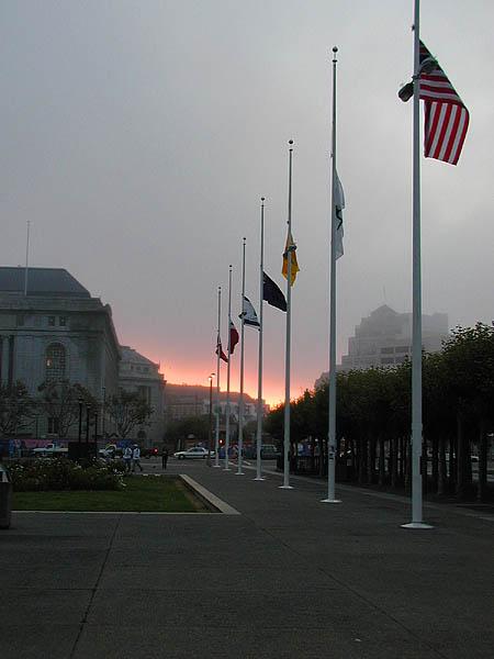 Sept. 11 sunrise