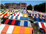 The Colorful Roofs of  Norwich  Market