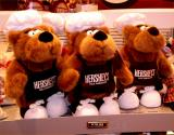 3 Bears in the TimesSquare Hershey store