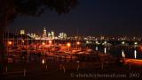 Perth Nightviews from the Royal Perth Yachtclub
